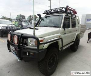 2012 Toyota Landcruiser VDJ79R MY13 Workmate Double Cab Manual 5sp M for Sale