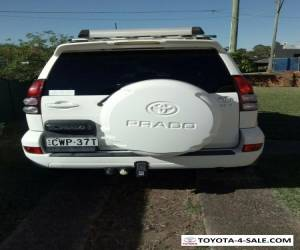 2007 TOYOTA LANDCRUISER PRADO GXL (4x4) GRJ120R MULTI POINT F/INJ 4.0L 5 SP AUTO for Sale