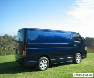 TOYOTA HIACE VAN - TURBO DIESEL - AUTO - LOW KLMS for Sale