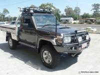 2012 Toyota Landcruiser VDJ79R MY10 GXL Manual 5sp M Cab Chassis