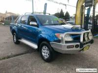 2005 Toyota Hilux GGN25R SR5 Blue Automatic A Utility