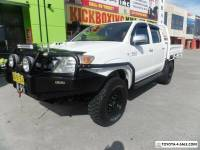2011 Toyota Hilux KUN26R MY12 SR5 Double Cab Manual 5sp M Utility