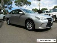 2015 Toyota Camry ASV50R Altise Silver Automatic 6sp A Sedan