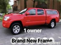 2008 Toyota Tacoma NEW TOYOTA FRAME * 1 OWNER
