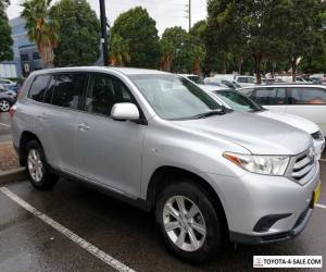2013 Toyota Kluger KXR 4WD for Sale