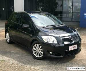 2009 Toyota Corolla ZRE152R Levin ZR Black Manual 6sp M Hatchback for Sale