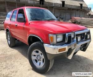 1991 Toyota 4Runner for Sale