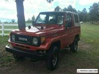 1989 Toyota Land Cruiser BJ70