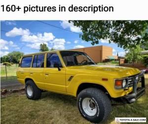 1986 Toyota Land Cruiser Fj60 for Sale