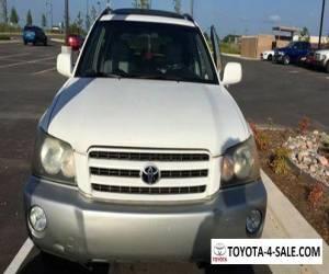 2003 Toyota Highlander for Sale