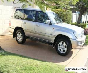 2003 Toyota Landcruiser UZJ100R Sahara Silbergrau Automatic 5sp A Wagon for Sale