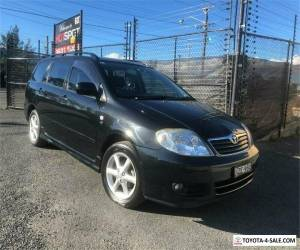 2006 Toyota Corolla ZZE122R 5Y Levin Black Automatic A Wagon for Sale