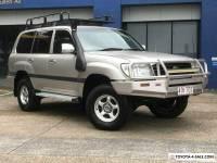 1998 Toyota Landcruiser HZJ105R GXL (4x4) Gold Automatic 4sp A Wagon