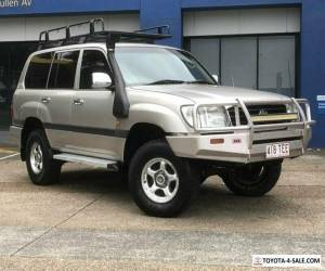 1998 Toyota Landcruiser HZJ105R GXL (4x4) Gold Automatic 4sp A Wagon for Sale