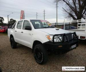 2008 Toyota Hilux SR 4X4 Dual Cab KUN26R 3.0 5 spd Turbo Diesel 4wd Country Ute  for Sale
