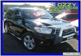 2009 Toyota Kluger GSU45R Grande (4x4) Black Automatic 5sp A Wagon for Sale