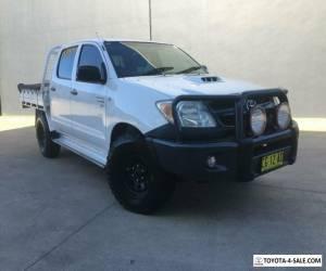 2006 Toyota Hilux KUN26R MY07 SR Utility Dual Cab 4dr Man 5sp, 4x4 965kg 3.0DT for Sale