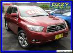 2009 Toyota Kluger GSU40R KX-S (FWD) Red Automatic 5sp A Wagon for Sale