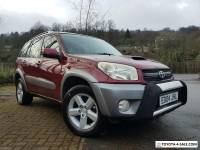 RAV4 XT3 5 DOOR 4X4 DIESEL MANUAL 2004 RED AC SUNROOF