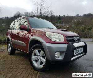 RAV4 XT3 5 DOOR 4X4 DIESEL MANUAL 2004 RED AC SUNROOF for Sale