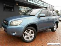 2007 Toyota RAV4 GSA33R MY08 ZR6 Blue 5 SP AUTOMATIC Wagon
