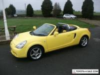 TOYOTA MR2 1.8 VVTI ROADSTER ONLY   72 BUILT IN YELLOW