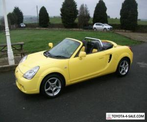TOYOTA MR2 1.8 VVTI ROADSTER ONLY   72 BUILT IN YELLOW for Sale