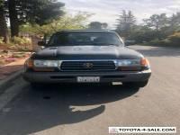 1996 Toyota Land Cruiser Silver