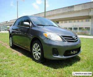 2013 Toyota Corolla Sedan LE (A4) for Sale