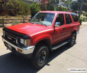 1990 Toyota 4Runner SR5 for Sale