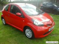 TOYOTA AYGO 3 DOOR RED