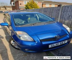 Blue Toyota Yaris 2010 Low Mileage. 5 Door 1.33 VVT-i Petrol Hatchback for Sale