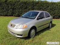 2004 Toyota Corolla CE 4 Door Sedan 50+ HD Pictures Must See Call Now