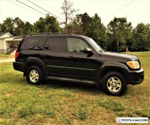 2002 Toyota Sequoia Limited pkg. for Sale