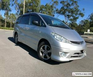2004 Toyota Estima /Tarago Aeras Premium Silver Automatic A Wagon for Sale
