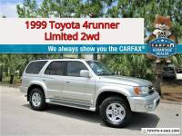 1999 Toyota 4Runner Limited 2WD! Florida ZERO Rust! NO RESERVE AUCTION