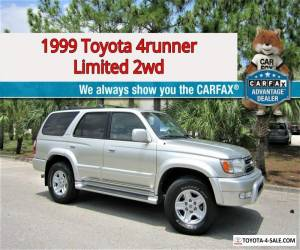 1999 Toyota 4Runner Limited 2WD! Florida ZERO Rust! NO RESERVE AUCTION for Sale