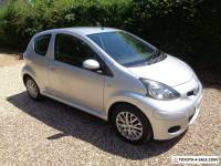 "SEPT, 2009  TOYOTA AYGO "" PLATINUM ""  3 DOOR IN SILVER"