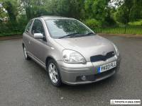 TOYOTA YARIS TSPORT FACELIFT LOW MILES SPORTY NIPPY CAR