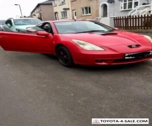 Toyota celica vvti 1.8,low miles 71k for Sale