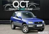 Toyota Rav 4 2.0 EX 3dr 4X4 * Lady Owner Since 2007 + January 2020 MOT for Sale