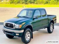 2003 Toyota Tacoma No Reserve 42K Original Miles 4x4 Crew Cab