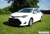 2017 Toyota Corolla Sedan LE (CVT) for Sale