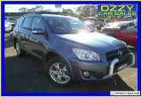 2009 Toyota RAV4 ACA33R 08 Upgrade Cruiser L (4x4) Blue Manual 5sp M Wagon for Sale