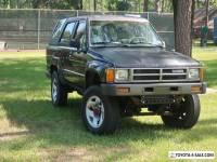 1986 Toyota 4Runner DLX