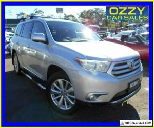 2014 Toyota Kluger GSU50R Grande (4x2) Silver Automatic 6sp A Wagon for Sale
