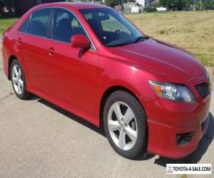 2010 Toyota Camry SE for Sale
