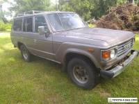 1986 Toyota Land Cruiser hj60