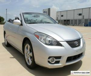 2008 Toyota Camry Solara SLE V6 CONVERTIBLE NAVI LEATHER HEATED STS for Sale