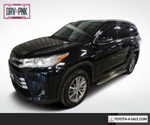 2017 Toyota Highlander All-wheel Drive XLE V6 for Sale
